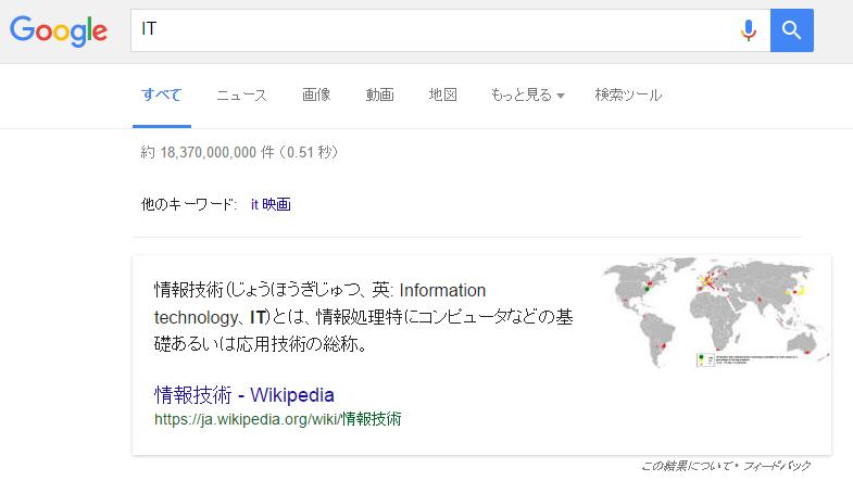 IT検索結果