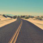 road-sky-sand-street