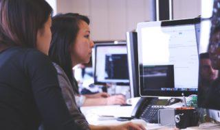 women_checking_data