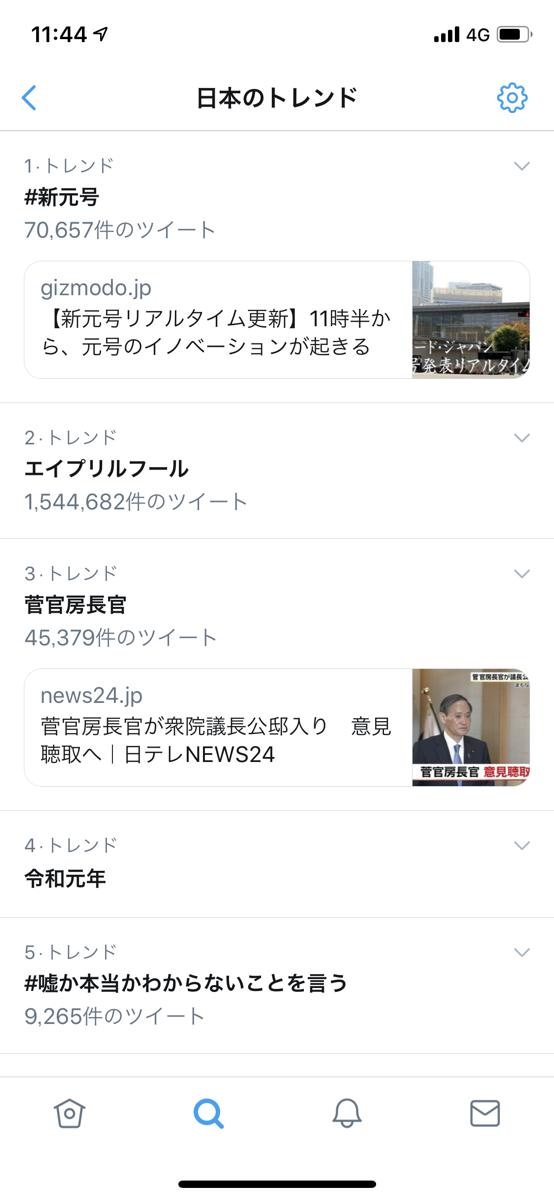 twitterトレンド1144
