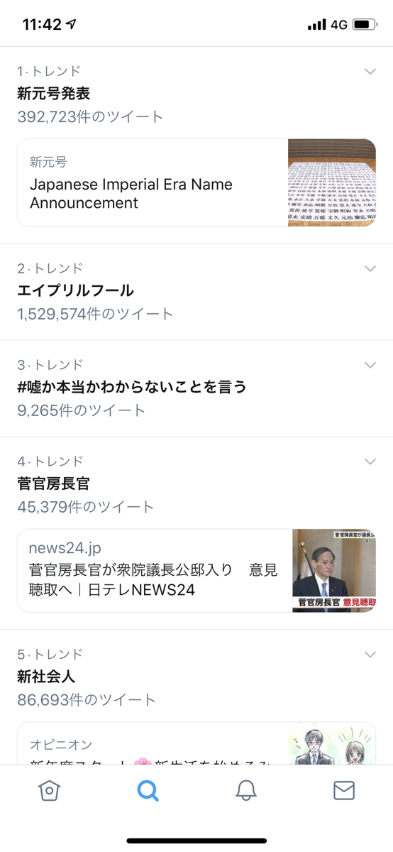 twitterトレンド1142