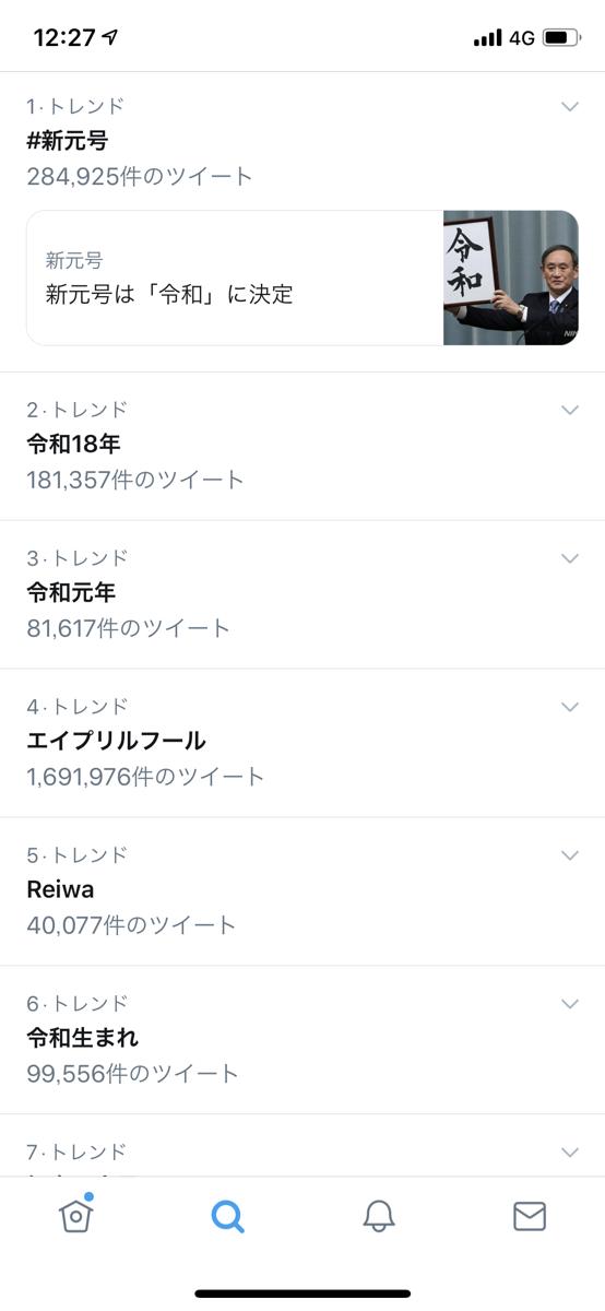 twitterトレンド1230